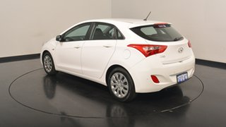 2017 Hyundai i30 GD4 Series II MY17 Active Polar White 6 Speed Sports Automatic Hatchback.