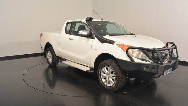 Used Mazda BT-50 UP0YF1 XTR Freestyle, 2011 Mazda BT-50 UP0YF1 XTR Freestyle White 6 Speed Manual Utility