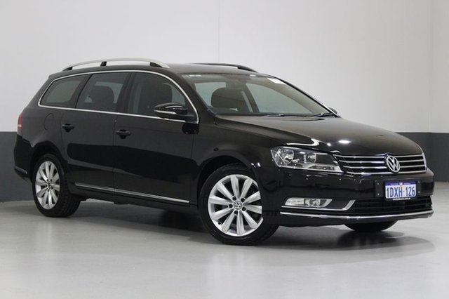 Used Volkswagen Passat 3C MY12 118 TSI, 2012 Volkswagen Passat 3C MY12 118 TSI Black 7 Speed Auto Direct Shift Wagon