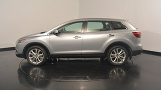 2012 Mazda CX-9 TB10A5 Luxury Activematic AWD Silver 6 Speed Sports Automatic Wagon.