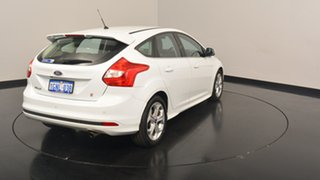 2014 Ford Focus LW MKII Sport PwrShift White 6 Speed Sports Automatic Dual Clutch Hatchback