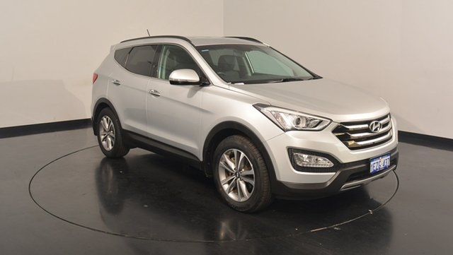 Used Hyundai Santa Fe DM2 MY15 Elite, 2015 Hyundai Santa Fe DM2 MY15 Elite Silver 6 Speed Sports Automatic Wagon