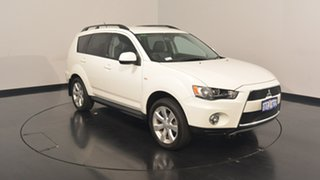 2011 Mitsubishi Outlander ZH MY12 30th Anniversary 2WD White 6 Speed Constant Variable Wagon.