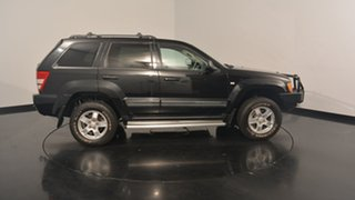 2008 Jeep Grand Cherokee WH MY2007 Limited Black 5 Speed Automatic Wagon