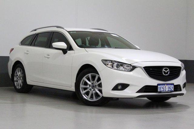 Used Mazda 6 6C Sport, 2014 Mazda 6 6C Sport White 6 Speed Automatic Wagon