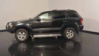 2008 Jeep Grand Cherokee WH MY2007 Limited Black 5 Speed Automatic Wagon.