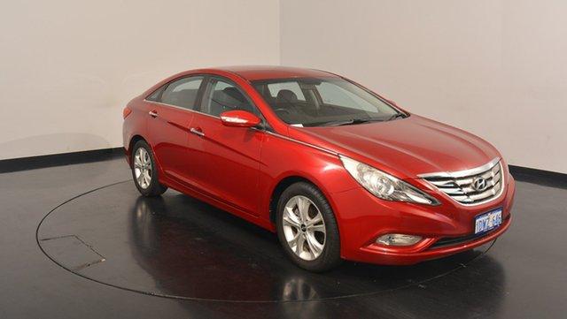 Used Hyundai i45 YF MY11 Elite, 2012 Hyundai i45 YF MY11 Elite Red 6 Speed Sports Automatic Sedan