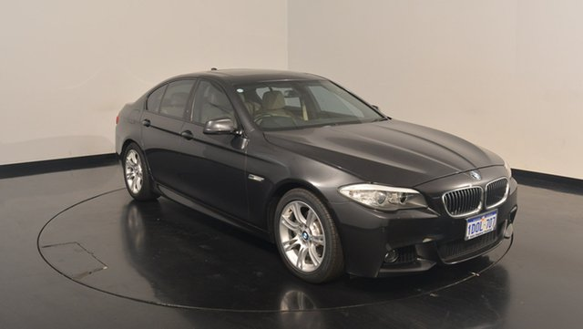 Used BMW 520D F10 Steptronic, 2011 BMW 520D F10 Steptronic Grey 8 Speed Sports Automatic Sedan