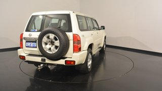 2013 Nissan Patrol Y61 GU 9 ST White 4 Speed Automatic Wagon