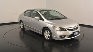 2010 Honda Civic 8th Gen MY10 Limited Edition Silver 5 Speed Automatic Sedan.