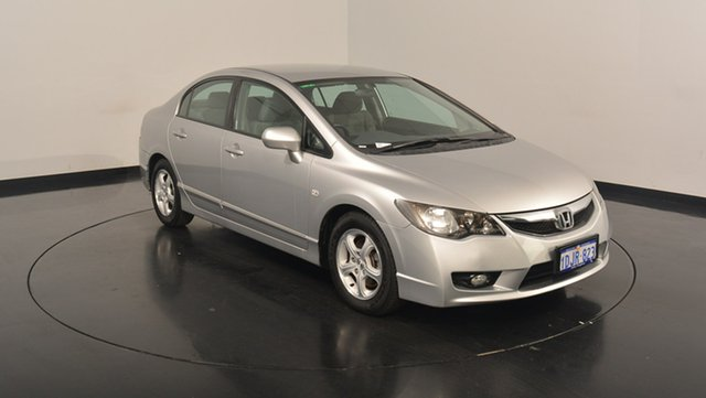 Used Honda Civic 8th Gen MY10 Limited Edition, 2010 Honda Civic 8th Gen MY10 Limited Edition Silver 5 Speed Automatic Sedan