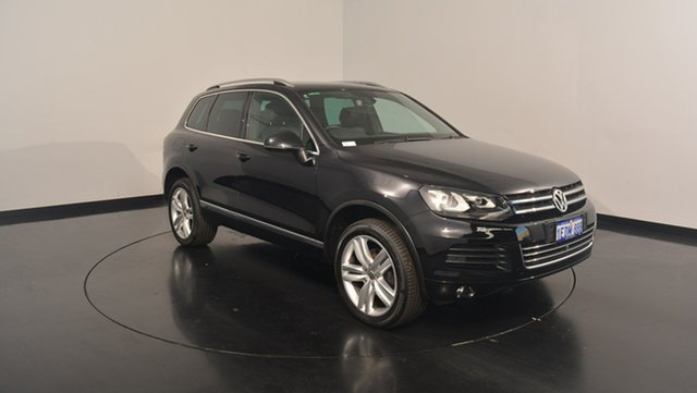 Used Volkswagen Touareg 7P MY13 V6 TDI Tiptronic 4MOTION, 2013 Volkswagen Touareg 7P MY13 V6 TDI Tiptronic 4MOTION Deep Black Pearl Effect 8 Speed