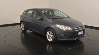 2014 Ford Focus LW MKII Trend PwrShift Grey 6 Speed Sports Automatic Dual Clutch Hatchback.