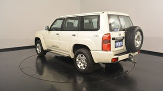 2013 Nissan Patrol Y61 GU 9 ST White 4 Speed Automatic Wagon.