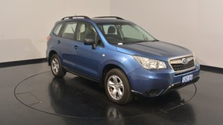 2014 Subaru Forester S4 MY14 2.5i Lineartronic AWD Quartz Blue 6 Speed Constant Variable Wagon.