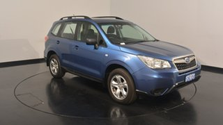 2014 Subaru Forester S4 MY14 2.5i Lineartronic AWD Quartz Blue 6 Speed Constant Variable Wagon
