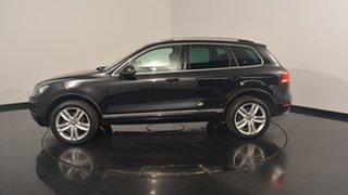 2013 Volkswagen Touareg 7P MY13 V6 TDI Tiptronic 4MOTION Deep Black Pearl Effect 8 Speed.