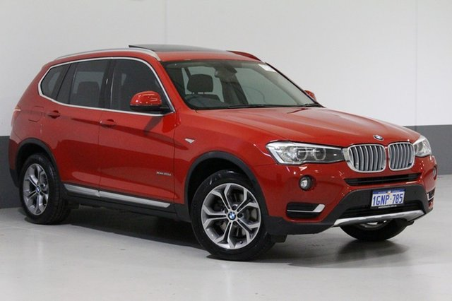Used BMW X3 F25 MY15 xDrive 20D, 2014 BMW X3 F25 MY15 xDrive 20D Red 8 Speed Automatic Wagon