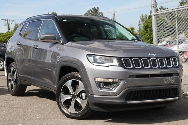 New Jeep Compass M6 MY18 Limited, 2018 Jeep Compass M6 MY18 Limited Grey Magnesio 9 Speed Automatic Wagon