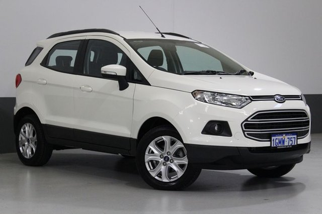 Used Ford Ecosport BK Trend, 2015 Ford Ecosport BK Trend White 5 Speed Manual Wagon