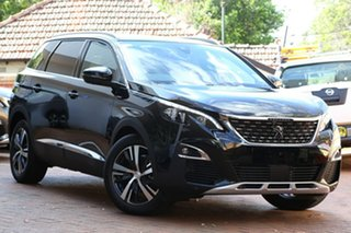2019 Peugeot 5008 P87 MY20 GT Line Black 6 Speed Automatic Wagon.