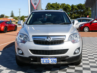 2012 Holden Captiva CG Series II MY12 5 Silver 6 Speed Sports Automatic Wagon.