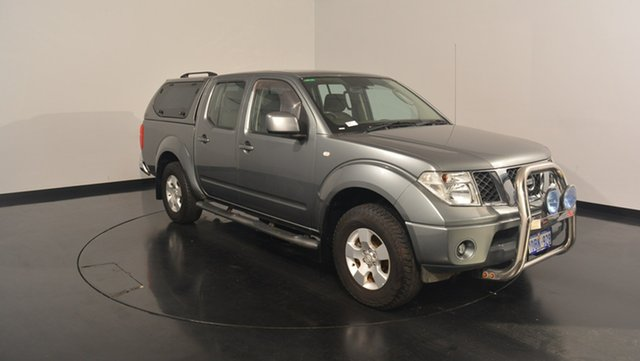 Used Nissan Navara D40 ST, 2010 Nissan Navara D40 ST Grey 6 Speed Manual Utility