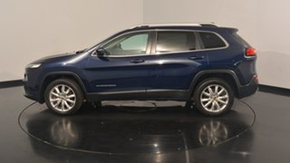 2015 Jeep Cherokee KL MY15 Limited True Blue 9 Speed Sports Automatic Wagon.