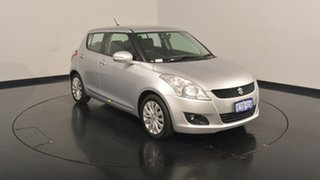 2013 Suzuki Swift FZ GLX Silver 5 Speed Manual Hatchback