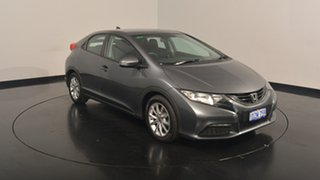 2012 Honda Civic 9th Gen VTi-S Silver 5 Speed Sports Automatic Hatchback.