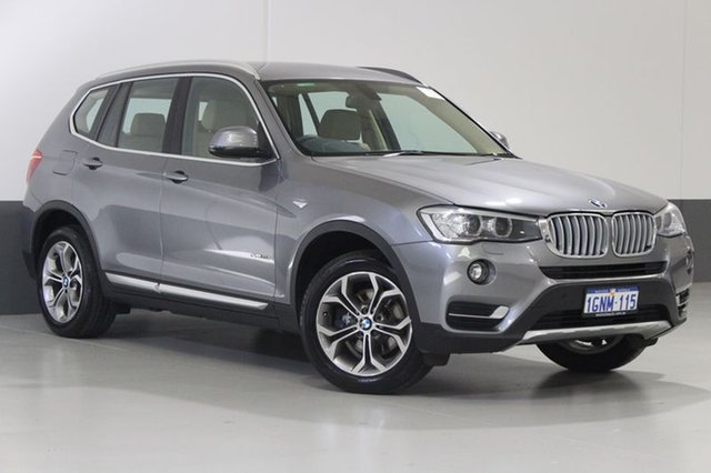 Used BMW X3 F25 MY15 xDrive 20I, 2015 BMW X3 F25 MY15 xDrive 20I Silver 8 Speed Automatic Wagon