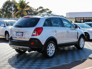 2012 Holden Captiva CG Series II MY12 5 Silver 6 Speed Sports Automatic Wagon