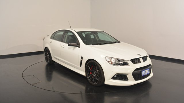 Used Holden Special Vehicles Clubsport GEN-F MY15 R8, 2015 Holden Special Vehicles Clubsport GEN-F MY15 R8 White 6 Speed Sports Automatic Sedan