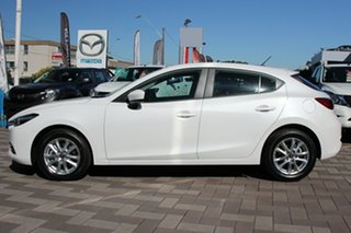 2018 Mazda 3 BN5476 Neo SKYACTIV-MT Sport Snowflake White 6 Speed Manual Hatchback