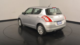 2013 Suzuki Swift FZ GLX Silver 5 Speed Manual Hatchback.