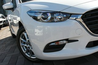 2018 Mazda 3 BN5476 Neo SKYACTIV-MT Sport Snowflake White 6 Speed Manual Hatchback.