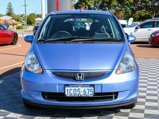 2007 Honda Jazz GD GLi Blue 1 Speed Constant Variable Hatchback.