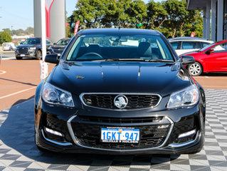 2016 Holden Ute VF II MY16 SS V Ute Black/Grey 6 Speed Manual Utility.
