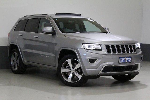 Used Jeep Grand Cherokee WK MY15 Overland (4x4), 2015 Jeep Grand Cherokee WK MY15 Overland (4x4) Silver 8 Speed Automatic Wagon