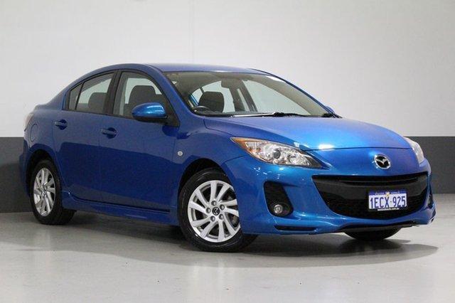 Used Mazda 3 BL MY13 Maxx Sport, 2013 Mazda 3 BL MY13 Maxx Sport Blue 5 Speed Automatic Sedan