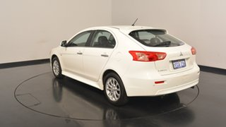 2013 Mitsubishi Lancer CJ MY13 LX Sportback White 6 Speed Constant Variable Hatchback.