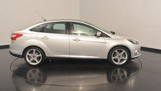 2011 Ford Focus LW Titanium PwrShift Moondust Silver 6 Speed Sports Automatic Dual Clutch Sedan