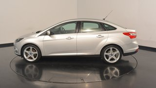 2011 Ford Focus LW Titanium PwrShift Moondust Silver 6 Speed Sports Automatic Dual Clutch Sedan.