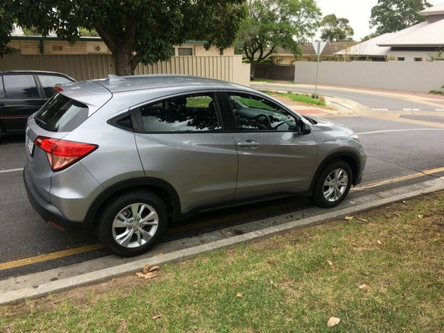 Demo Honda HR-V MY17 VTi, 2017 Honda HR-V MY17 VTi Lunar Silver 1 Speed Constant Variable Hatchback