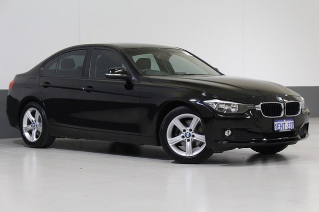 Used BMW 316I F30 , 2013 BMW 316I F30 Black 8 Speed Automatic Sedan