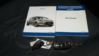 2010 Ford Fiesta WT LX Blue 5 Speed Manual Hatchback