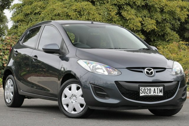 Used Mazda 2 DE10Y1 MY10 Neo, 2010 Mazda 2 DE10Y1 MY10 Neo Metropolitan Grey 5 Speed Manual Hatchback