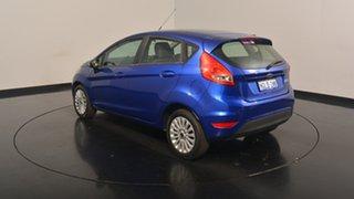 2010 Ford Fiesta WT LX Blue 5 Speed Manual Hatchback.