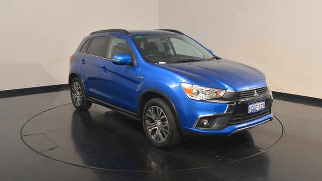 Used Mitsubishi ASX XC MY17 LS 2WD, 2017 Mitsubishi ASX XC MY17 LS 2WD Lightning Blue 6 Speed Constant Variable Wagon