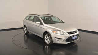 2013 Ford Mondeo MC Zetec Tdci Silver 6 Speed Sports Automatic Wagon.